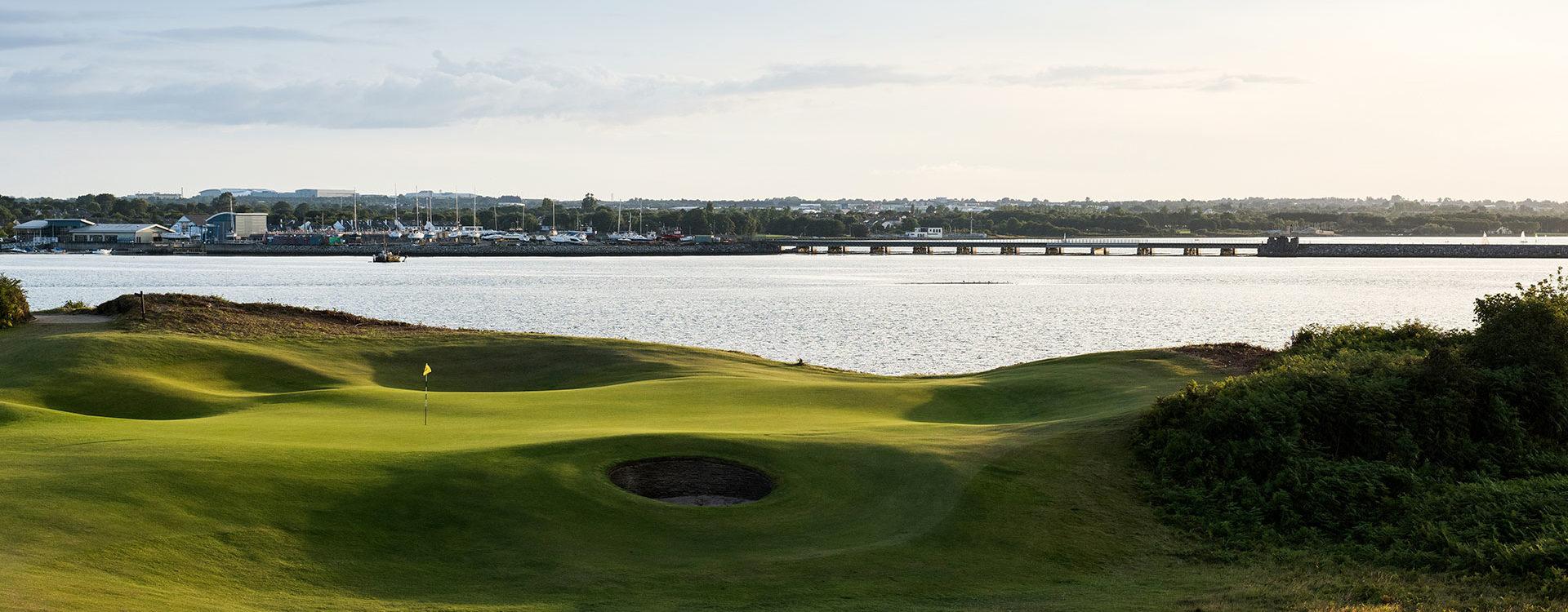 Golf courses near Dublin Airport   The Portmanock, Royal
