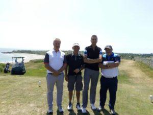 Murray Ross on Wye Golf Club