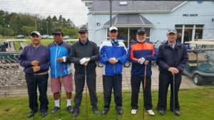 Dave and the crew from Cottrell Park Golf Resort