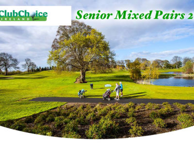 Seniors Mixed Pairs 2019