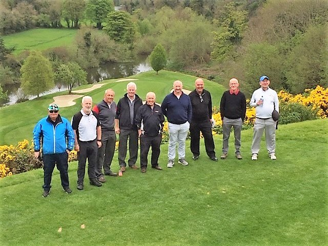 Mick and the Ashton and Lea Golf Club 'Shamrock Tour'