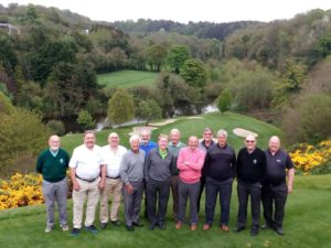 Les, Cled, Mike and all our Padeswood and Buckley Golf Club regulars