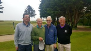 Clive and the chaps over from Cardigan Golf Club