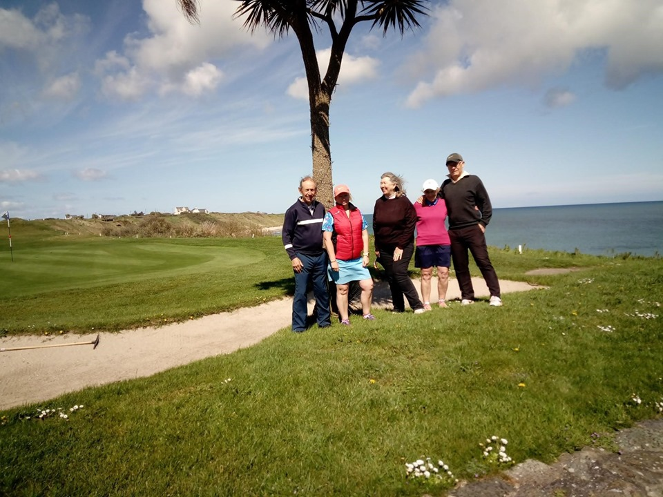 Pauline and the gang from Worlebury golf Club